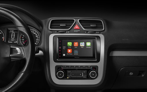 Image of a double din head unit